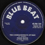 Ten Commandments / Busters Welcome - Prince Buster / Busters All Stars