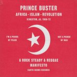 A Rock Steady And Reggae Manifesto - Prince Buster