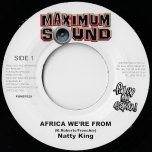 Africa Were From / Ashanti Warrior - Natty King