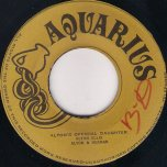 Altons Official Daughter / Aquarius Dub - Alton Ellis