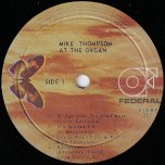 At The Organ - Mike Thompson