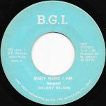 Baby Here I Am / Ver - Delroy Wilson