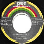 Black History / Recollection Rock - Hopeton Lindo / Mikey Dread And Jammys