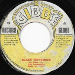 Black September / Ver - Joe Gibbs And The Professionals / Mighty Two