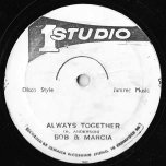 Riding West / Always Together - Sugar Belly / Bob And Marcia