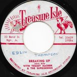 Breaking Up / Party Time - Alton Ellis With Tommy McCook And The Supersonics