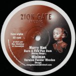 Burn A Fire Pon Dem / Ver Fender Rhoes / Roots Music / From afar Riddim - Murray Man / Miniman / Kenny Knots