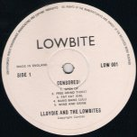 Censored - Lloydie and The Lowbites