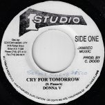Cry For Tomorrow / Ver - Donna V / Sound Dimension