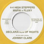 Declaration Of Rights / Step Of Declaration - Johnny Clarke