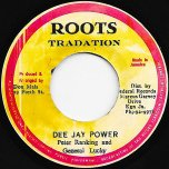 Deejay Power / Ver - Peter Ranking And General Lucky / King Tubby
