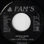 Distant Drum / Ver - Family Man And The Rebel Army