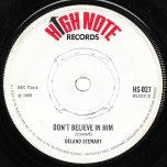 Got To Come Back / Dont Believe In Him - Delano Stewart