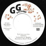 Dont Give Your Love / Loving Dub - Al Brown / GG All Stars