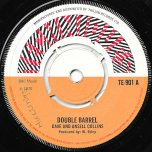 Double Barrel / Peep In A Pot Fire - Dave Barker And Ansel Collins / The Techniques