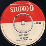 Fatty Fatty / Mother Word - Ken Boothe (Actually The Heptones) / Delroy Wilson