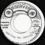 Casandra / Fire From The Observer Ver - Dennis Brown