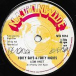 Forty Days And Forty Nights / Third World Affairs Dub - Leon Hyatt
