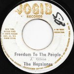 Freedom To The People / Dont Be Prejudice - The Heptones / Max Romeo
