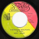 Freedom Sounds / Rose Lane Dub - Ricky Grant