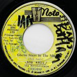 Ghetto Stays In The Mind / Ghetto Dub - Bob Andy / The Revolutionaries