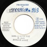 Girl A Love You / Ver - Horace Andy