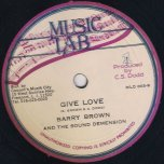 Misty / Give Love - Alton Ellis and Zoot Simms / Barry Brown and The Sound Dimension