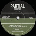 Government Man (Alt Cut) / Politcal Ver - Christel And Goldmaster All Stars