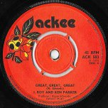 Great Great Great / Version - I Roy And Ken Parker