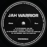 Hail Him / Dubplate Mix / Rastaman A Trod It In A Babylon / Dub It In A Babylon - Peter Broggs / Jah Warrior