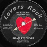 Hello Stranger / Stranger Ver - Brown Sugar