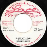 I Lost My Lover / Chapter Two Dub - Ronnie Davis / The Operator