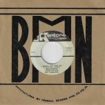 I Wont Let You Go / Love Me Forever - Blues Busters With Byron Lee And The Dragonaires