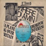 Idi Amin Disco / Blood Up / Free Black People - Militant Barry