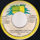 I Dont Know Why I Love You / Ver - Desi Young