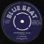 Independent Blues / For My Love - Basil Gabbidon