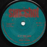 Is It Too Late / Part Two - Keith Poppin / Sunshot Band