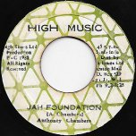 Jah Foundation / Ver - Anthony Chambers / High Times Players