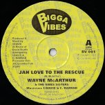 Jah Love To The Rescue / Dub / A Who Dem / Dub - Bunnington Judah And The Vibes Sisters