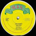 Jah Power / Jah Dub / Strings Of My Heart / Dub Of My Heart - Jah Phillip / Sly And Robbie / Lloyd Jackson And The Groovers