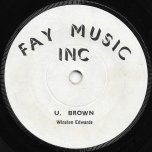 Jamaican Tobacco / Born On A Sunday - U Brown / Winston Edwards