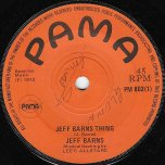 Jeff Barnes Thing / Lovers Mood - Jeff Barnes / Lennox Brown