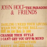 John Holt-The Paragons and Friends - John Holt and The Paragons
