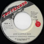 Just A little Sign / PA Mix - Brian And Tony Gold