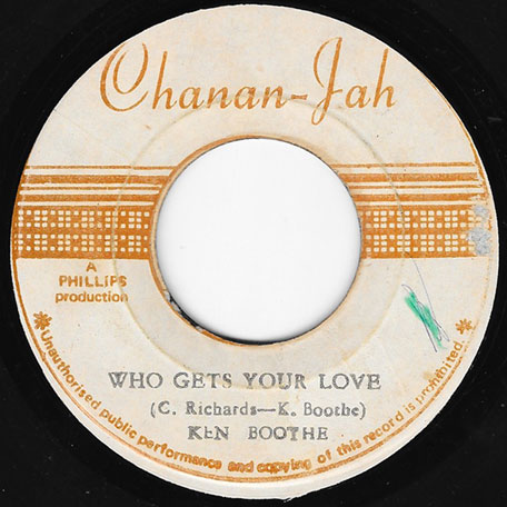 Ken Boothe Who Gets Your Love