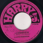Lavender Blue / Theme From The Big 3 - Lloyd Robinson / Harry J All Stars