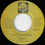 Life Of The People / Ver - Doniki / Gully Bank All Stars
