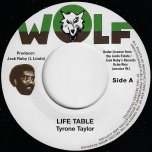 Life Table / Turning Dub - Tyrone Taylor / Black Disciples