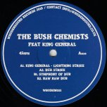 Lightning Strike / Dub Strike / Symphony Of Dub / Raw Raw Dub - The Bush Chemists Feat King General