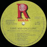 Love And Only Love - Fred Locks And The Creation Steppers